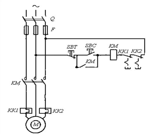 Принципиальная электрическая схема дистанционного управления конвейером транспортер бу в ульяновске